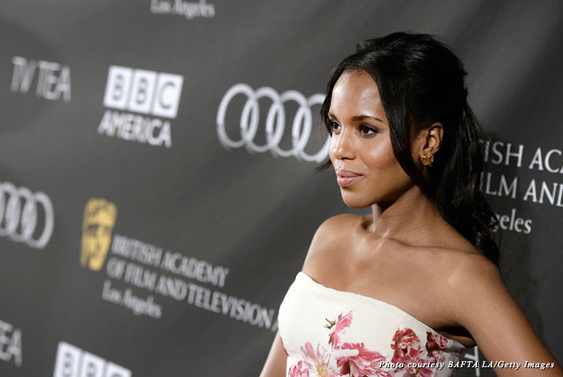 Kerry Washington attends the 2013 BAFTA LA TV Tea
