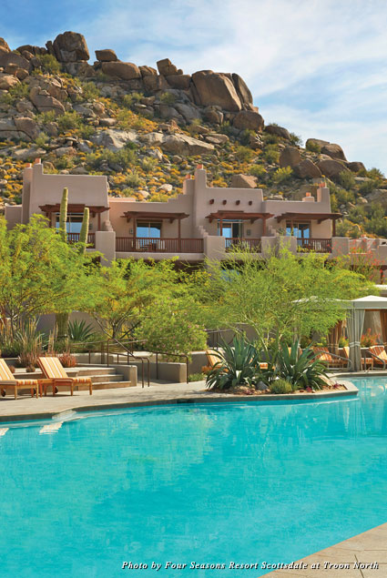 Pool at the Four Seasons Resort Scottsdale
