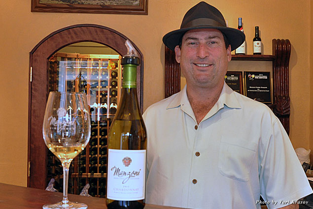 Manzoni Cellars owner Mark Manzoni