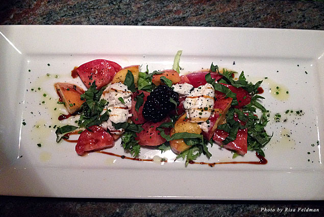 Palisade pear salad at Artisan