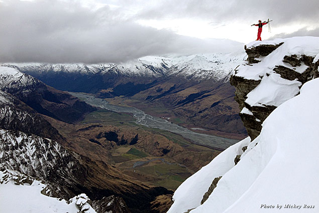A short hike from the top of Treble Cone Resort provides for incredible views of New Zealand's natural beauty