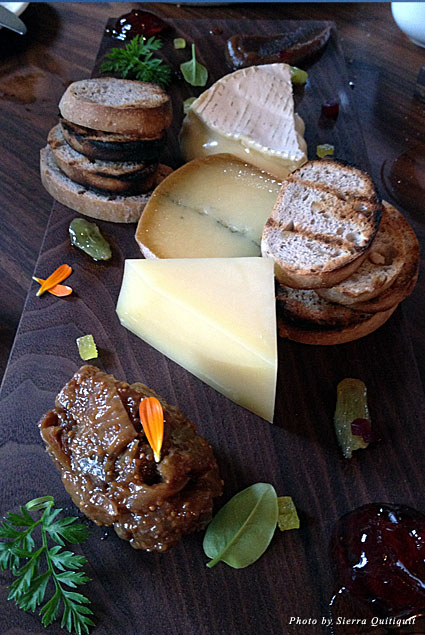 The cheese plate at Bistro Gentil should not be missed!
