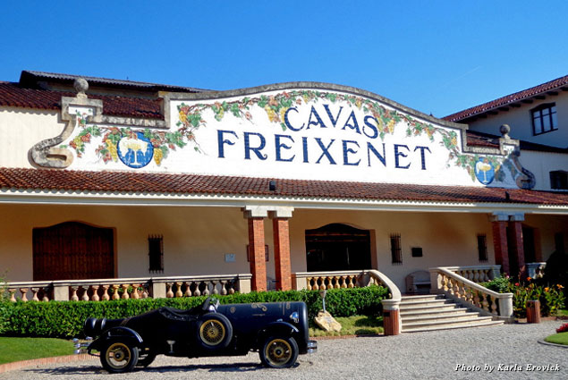 Cavas Freixenet, a tour made in heaven