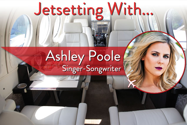 Jetsetting With Singer Ashley Poole