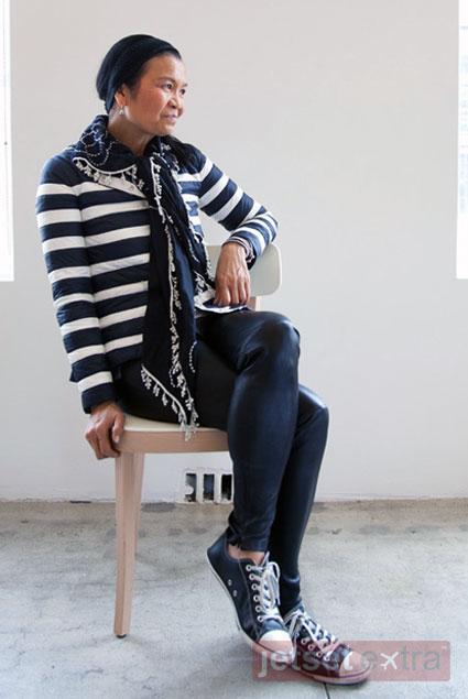 Jetsetting With Fashion Designer Chan Luu