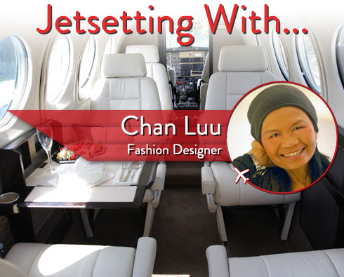 Jetsetting With Fashion Designer Chan Luu