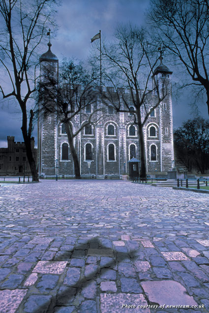 Tower of London after dark