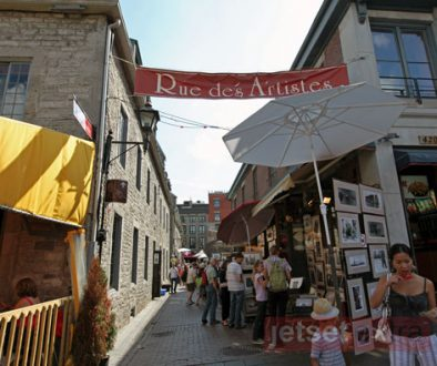 Rue des Artistes in Montreal