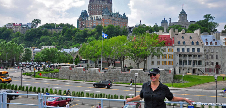 A view of Québec