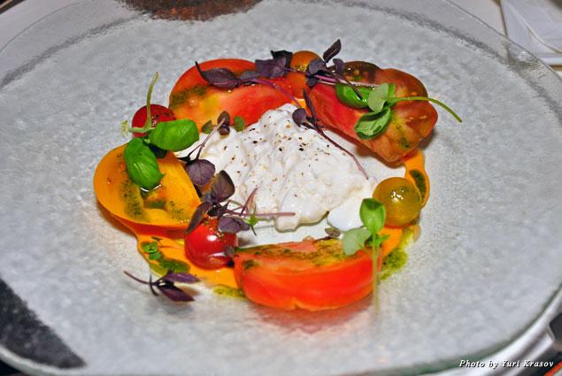 Caprese salad at Kailani