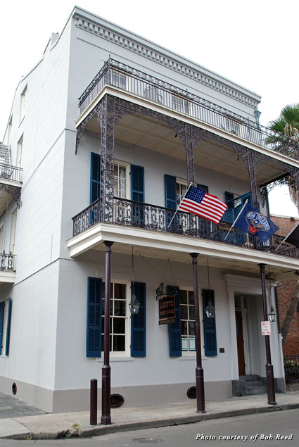 The Lafitte Guest House, where Room 21 awaits ghost-loving patrons