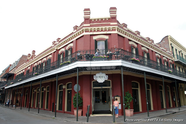 Muriel's Jackson Square, where fine food and ghostly visitors share a table
