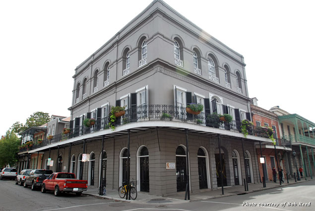 The beautiful LaLaurie Mansion belies its grisly past in New Orleans' French Quarter