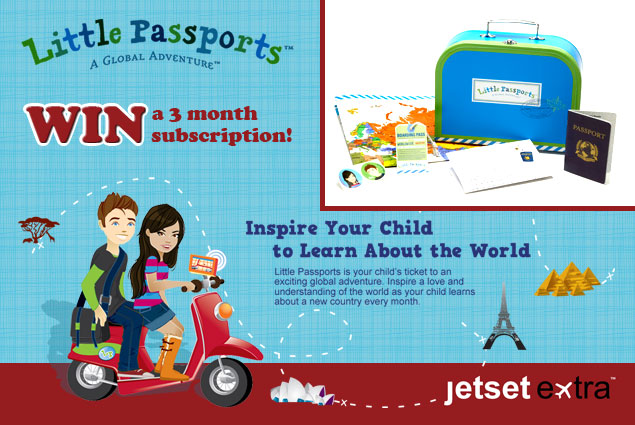 Win It! A Little Passports Three-Month Subscription