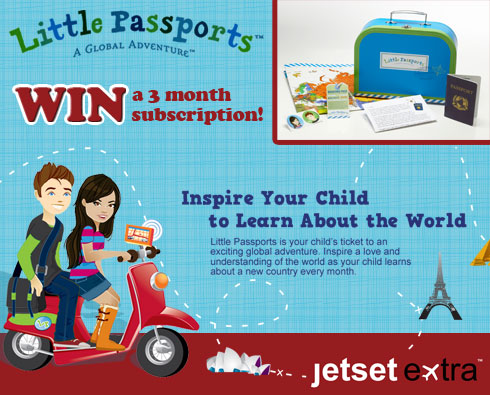 Win a Little Passports Three-Month Subscription