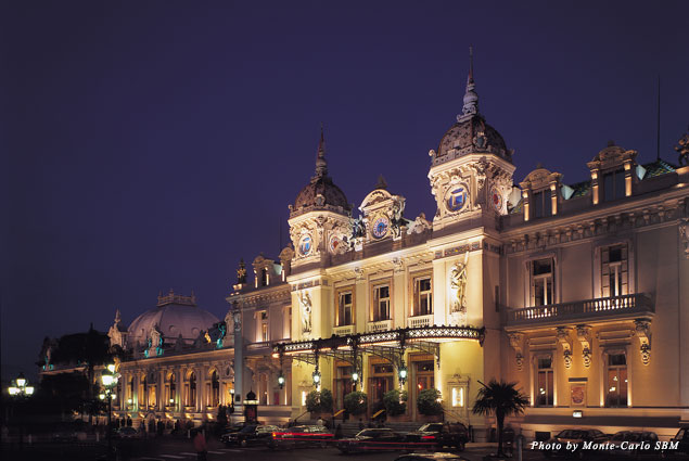 Exterior of Monte Carlo Casino