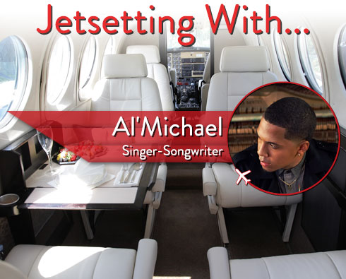 Jetsetting With Singer-Songwriter Al'Michael
