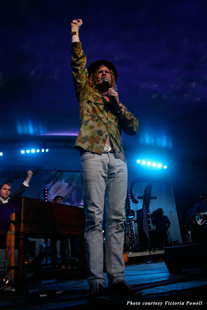 Allen Stone's blue-eyed soul was a big hit at Voodoo Fest 2013