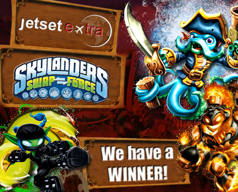 Announcing Our Skylanders SWAP Force™ Starter Kit Winner!