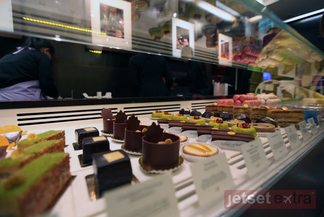 Delicious treats created by Pierre Herme at his shop in Paris