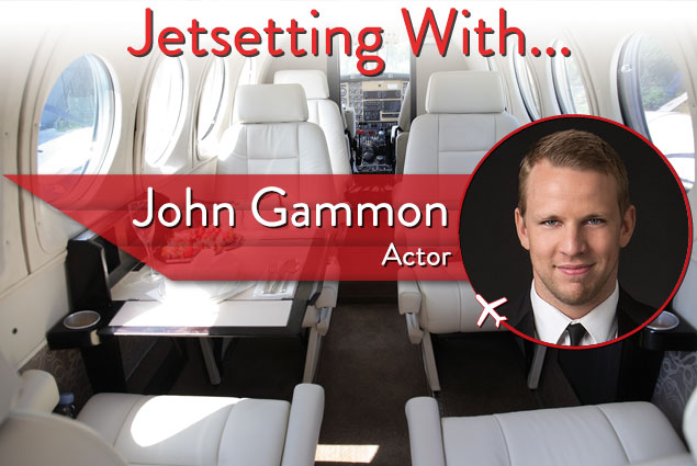Jetsetting With Actor John Gammon