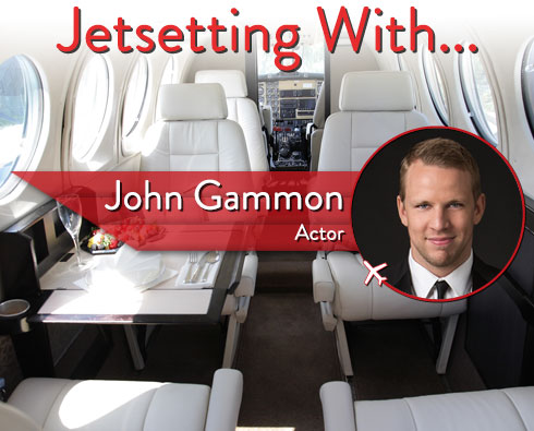 Jetsetting With Actor John Gammon