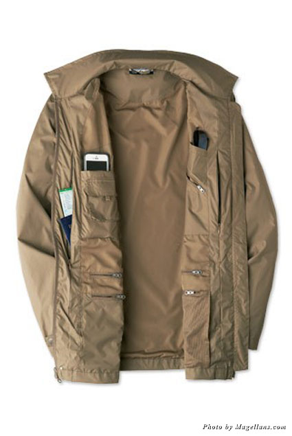 Men's convertible jacket from Magellans.com