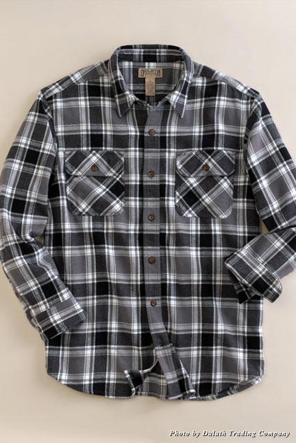 Burlyweight flannel shirt