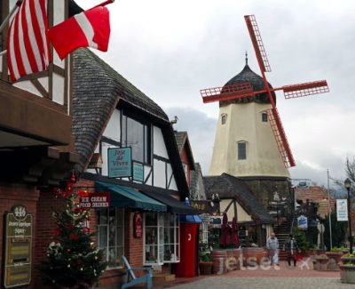 Windmills are everywhere you look in Solvang