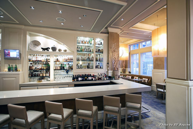 Dine and imbibe in XV Beacon's Bar and Lounge