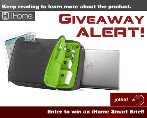 Giveaway Alert! Enter to Win an iHome Smart Brief
