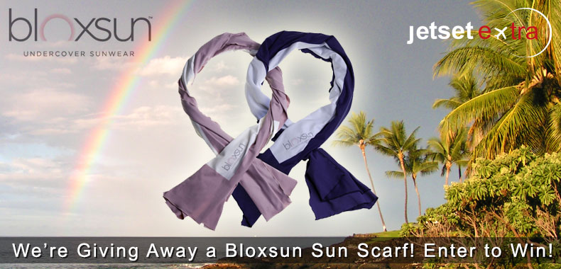 We're Giving Away a Bloxsun Sun Scarf!