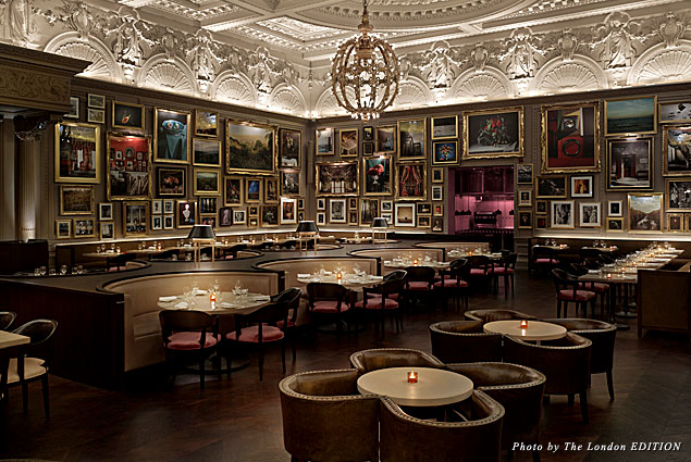 Berners Tavern at new hotel the London EDITION