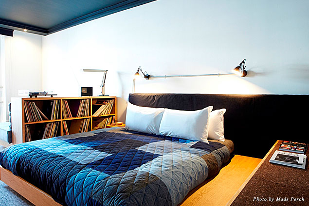 A guestroom at the Ace Hotel in Shoreditch