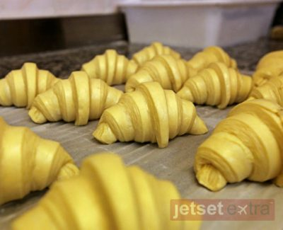 Croissants being made at Wonderful Time Master Baker Experience