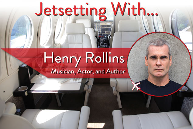 Jetsetting With Musician, Actor, and Author Henry Rollins