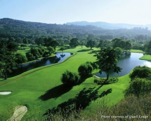 Golf fairway at Quail Lodge in Carmel Valley