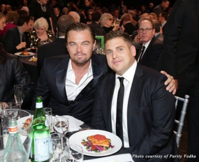 Leonardo DiCaprio and Jonah Hill at the 19th Annual Critics' Choice Movie Awards