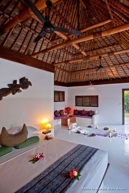 My room at the Navutu Stars Resort