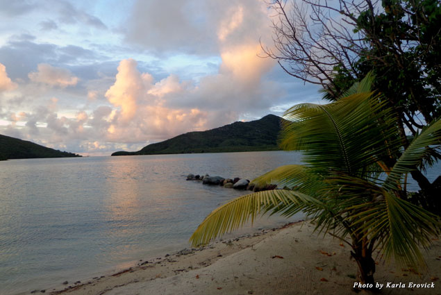 Unspoiled beaches