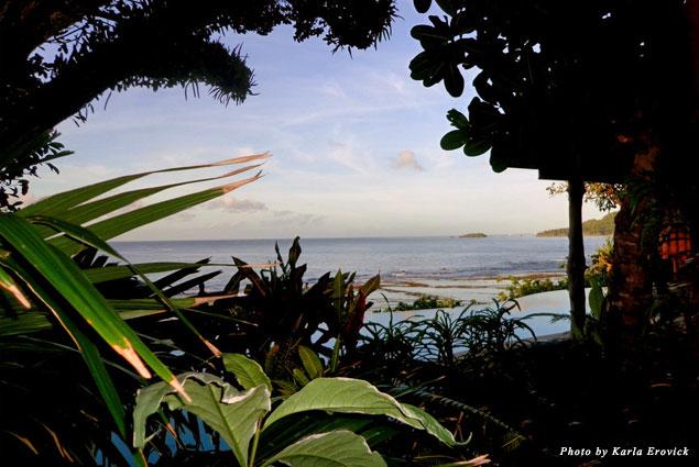 Views of Koro Sea