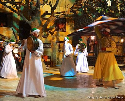 Sufi dancers in Morocco