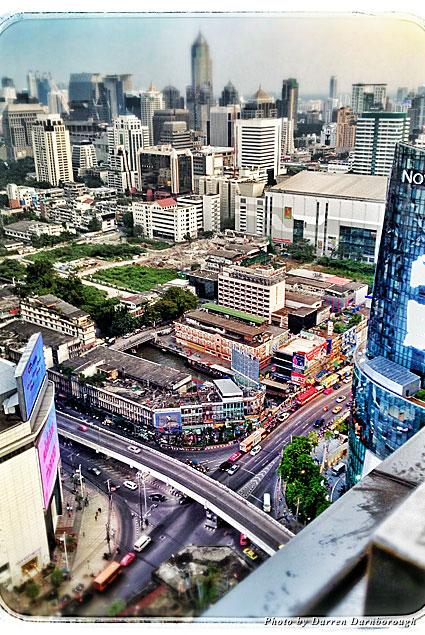View of Bangkok from the Amari