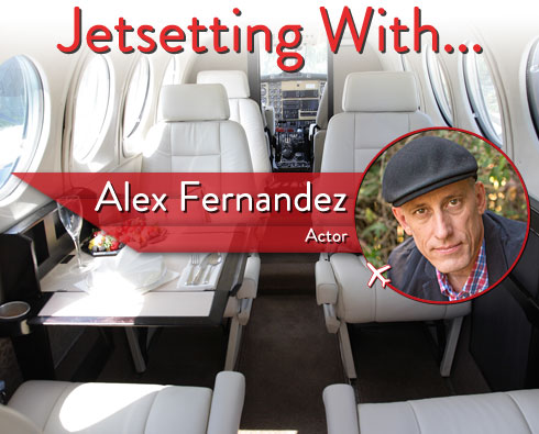 "Jetsetting With ""Killer Women"" Star Alex Fernandez"