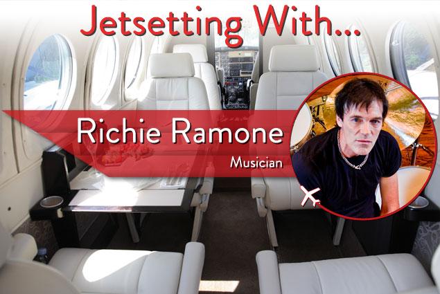 Jetsetting With Legendary Drummer Richie Ramone