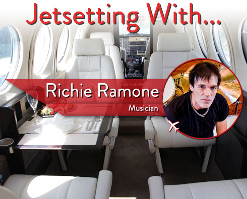 Jetsetting With Legendary Drummer Richie Ramone