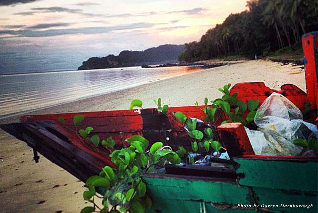 Idyllic beach in Thailand