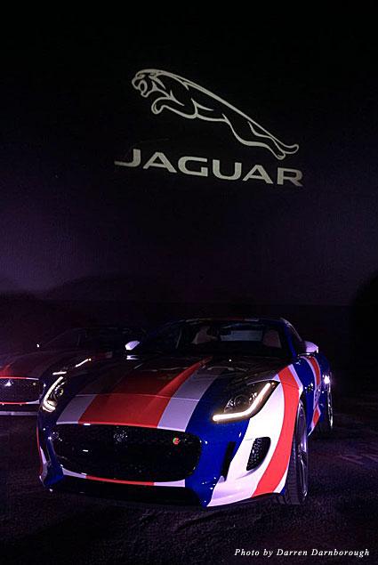 Jaguar at the Jaguar F Type launch