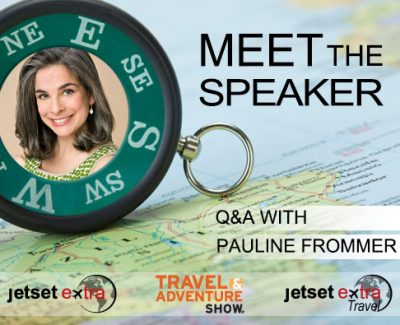 Meet the Speaker: Guidebook Editor & Radio Host Pauline Frommer