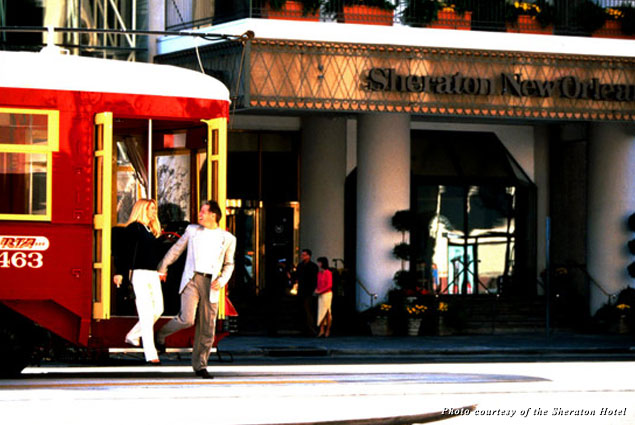 The Sheraton New Orleans Hotel is the perfect home base for celebrating Mardi Gras